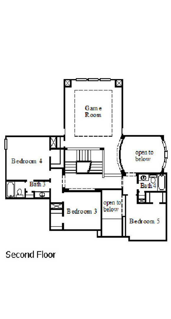 Coventry Home Plan 3731 Floorplan 2 in Hollyhock