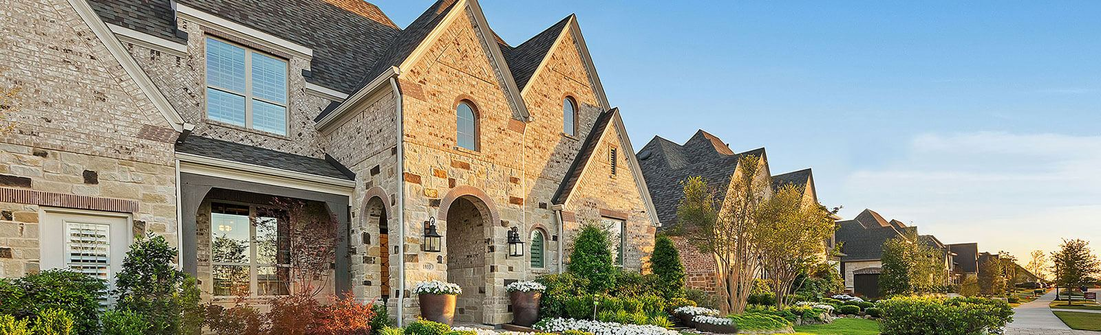 new homes in Frisco at Hollyhock