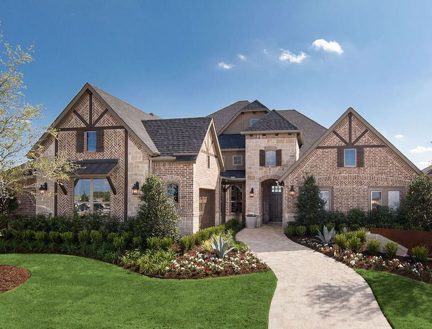 Coventry Homes model exterior in Hollyhock