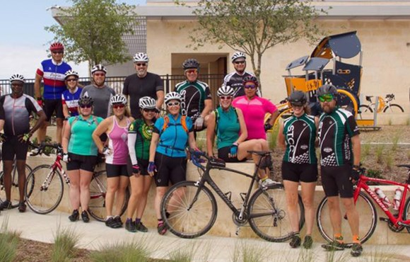 Hollyhock Bike Club in Frisco, TX