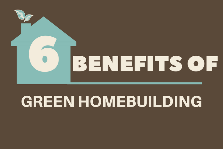 6 Benefits of Green Home Building Infographic