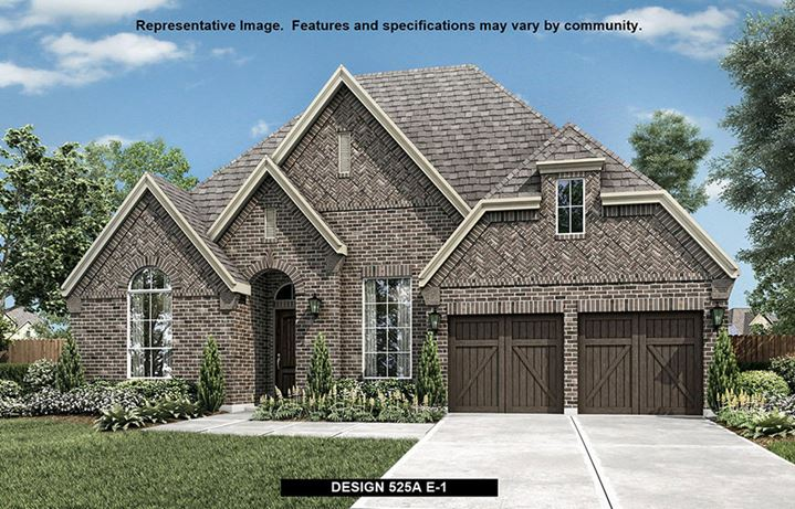 Britton Homes in Hollyhock - 525A Exterior Option