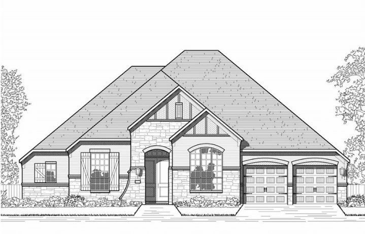 Hollyhock Highland Homes Plan 270 Elevation A