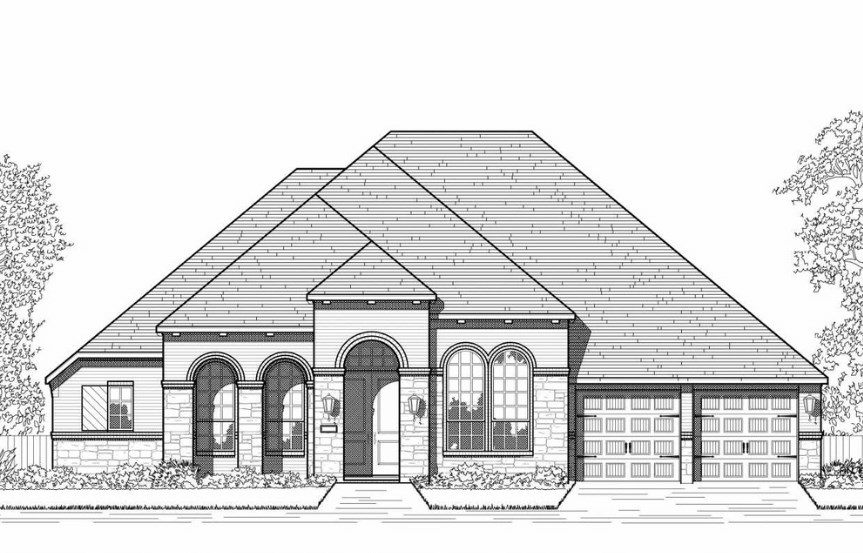 Hollyhock Highland Homes Plan 270 Elevation B
