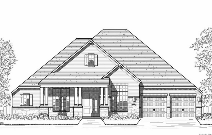 Hollyhock Highland Homes Plan 270 Elevation C
