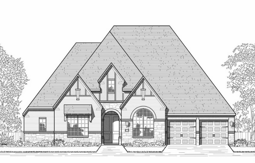 Hollyhock Highland Homes Plan 270 Elevation D