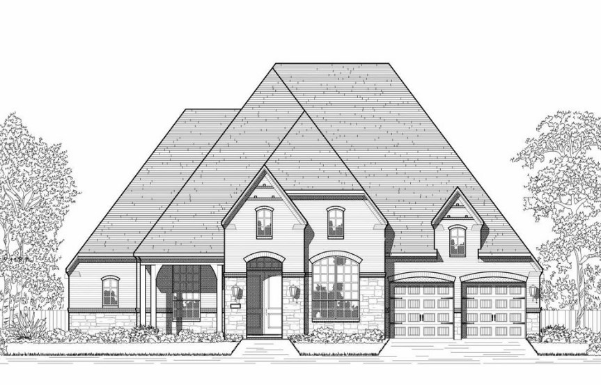 Hollyhock Highland Homes Plan 270 Elevation E