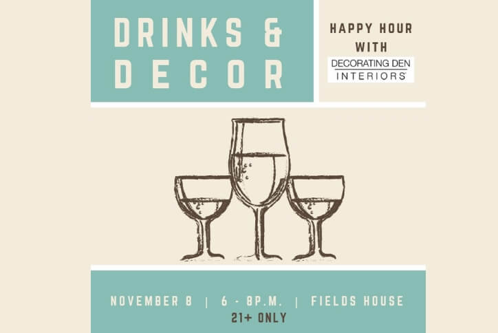 Drinks & Decor Happy Hour at Hollyhock Frisco, TX