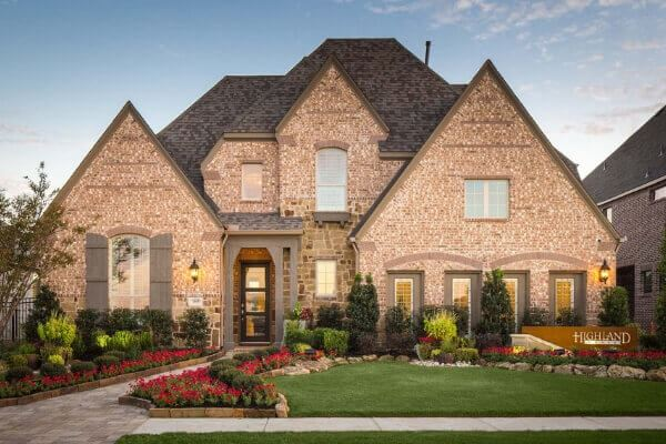 Highland Homes Model at Hollyhock in Frisco, TX