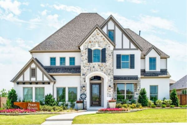 Perry Homes Model in Hollyhock in Frisco, TX