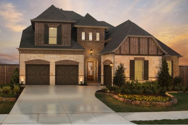 Britton Homes Model in Hollyhock in Frisco, TX