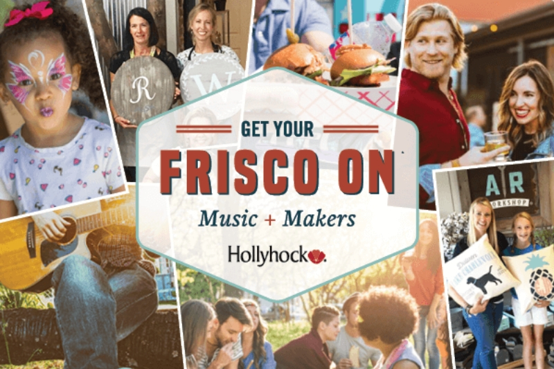 Get Your Frisco On Event Series at Hollyhock community Frisco, TX