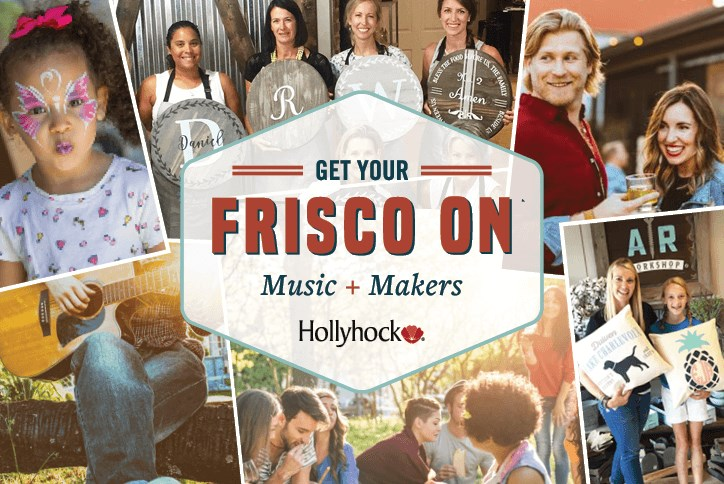 Get Your Frisco On at Hollyhock