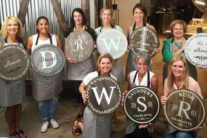 AR Workshop Sign Making Class at Hollyhock in Frisco, TX