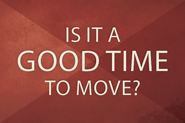 Is it a good time to move graphic | Hollyhock in Frisco, TX
