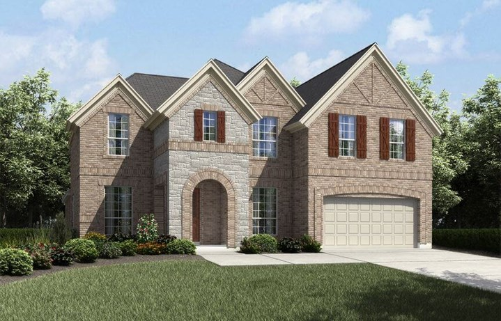 Landon Homes Plan 600 Elevation B in Hollyhock