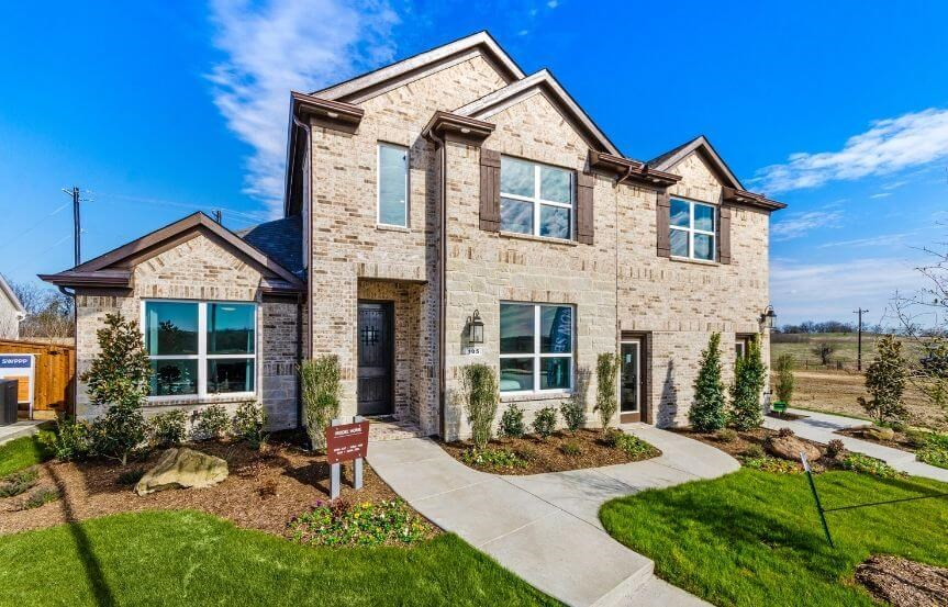 Landon Homes Plan 5810 Sienna Elevation 1a in Hollyhock
