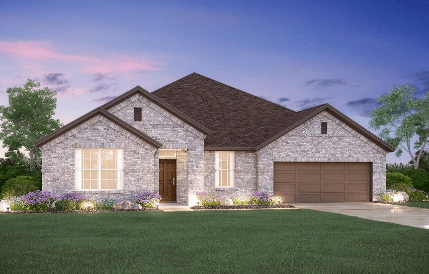 MI Homes Plan Nolan Elevation B in Hollyhock