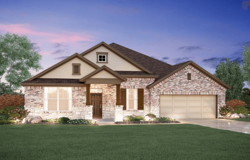 MI Homes Plan Nolan Elevation D2 in Hollyhock