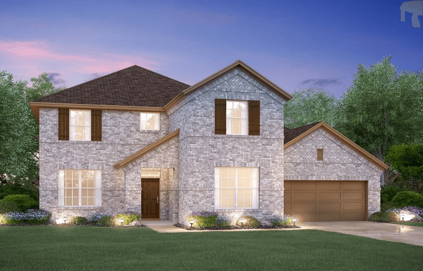 MI Homes Plan Medina Elevation B in Hollyhock