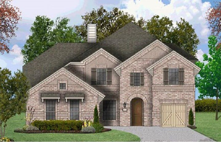 Coventry Homes Plan 3731 Elevation in Hollyhock
