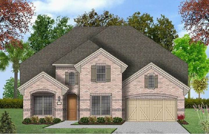 Coventry Homes Plan 3341 Elevation in Hollyhock