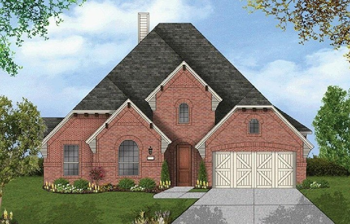 Coventry Homes Plan 2884 Elevation in Hollyhock
