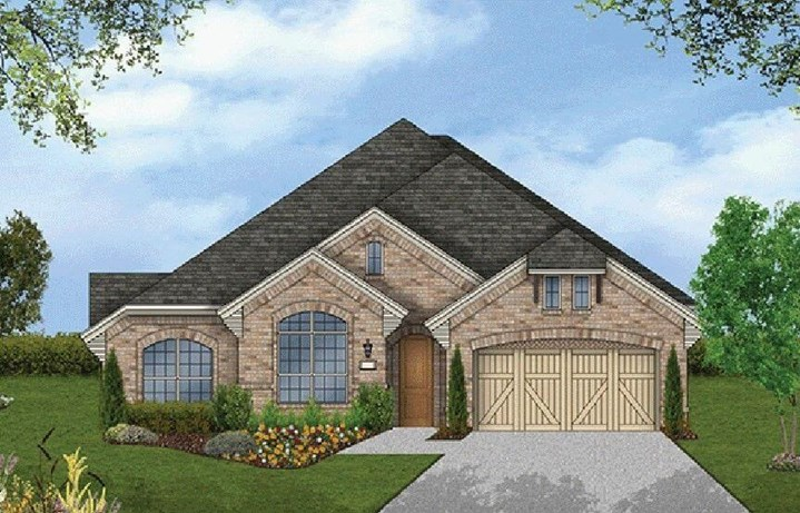 Coventry Homes Plan 2541 Elevation in Hollyhock