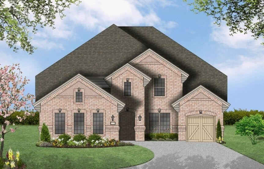 Coventry Homes Plan 3767 Elevation B in Hollyhock