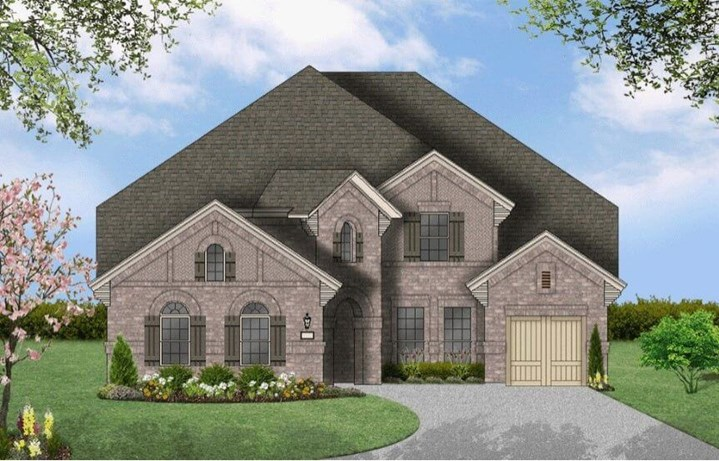 Coventry Homes Plan 3767 Elevation A in Hollyhock