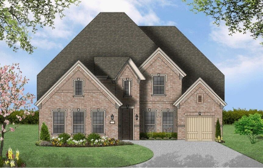 Coventry Homes Plan 3767 Elevation D in Hollyhock