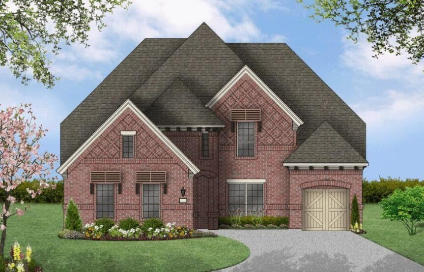 Coventry Homes Plan 3767 Elevation C in Hollyhock