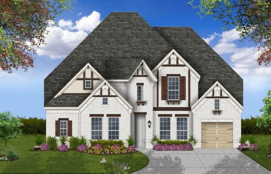 Coventry Homes Plan 3767 Elevation H in Hollyhock