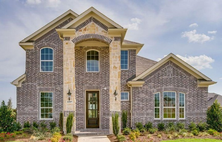 Landon Homes Plan 132 Delano Elevation C in Hollyhock