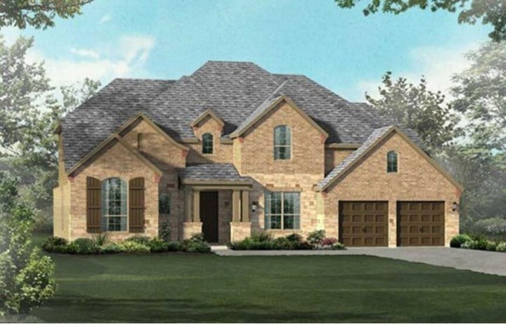 Highland Homes Plan 267 Elevation C in Hollyhock