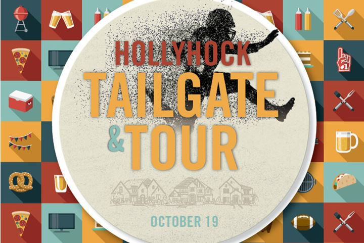 Tailgate & Tour at Hollyhock, a new home community in Frisco, TX