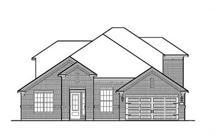 Chesmar Homes Elevation A Winchester in Hollyhock