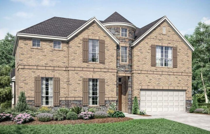 Newbridge 675 Elevation A Landon Homes in the Grove Frisco
