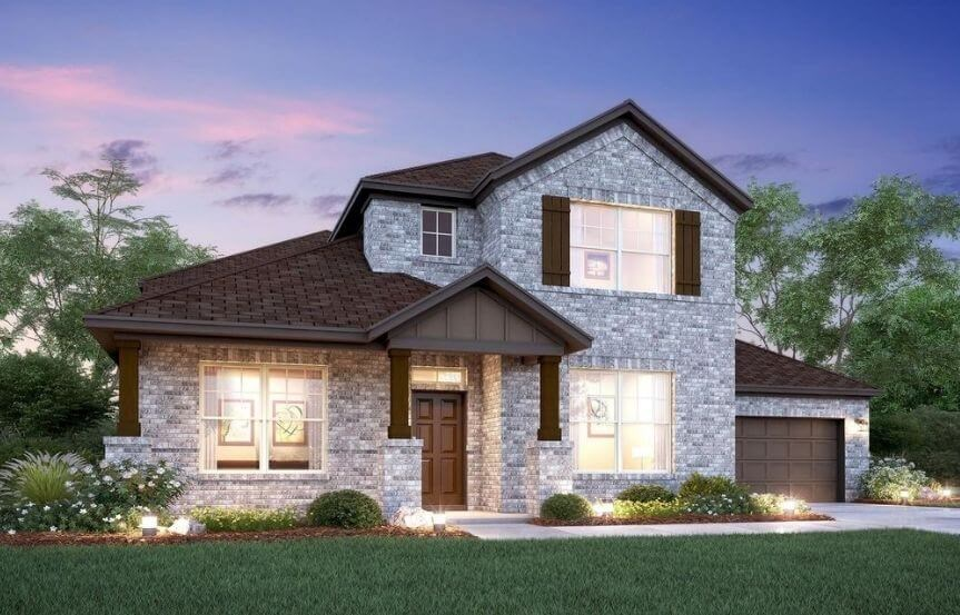 Salado Elevation D M/I Homes in Hollyhock
