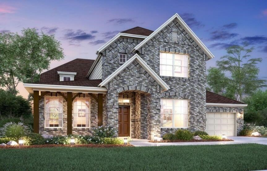 Salado Elevation E M/I Homes in Hollyhock